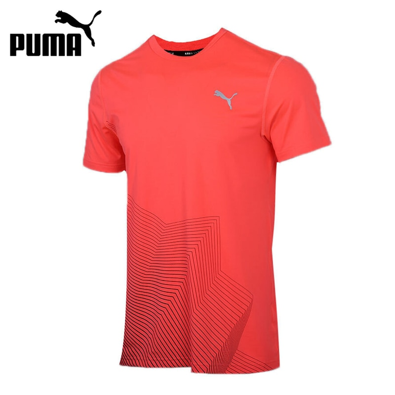 Original New Arrival  PUMA Last Lap Graphic Tee Mens T-shirts short sleeve Sportswear