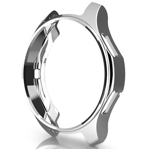 Case for samsung Galaxy watch 46mm/42mm strap TPU Plated Screen protector cover bumper S 3 42/46 mm