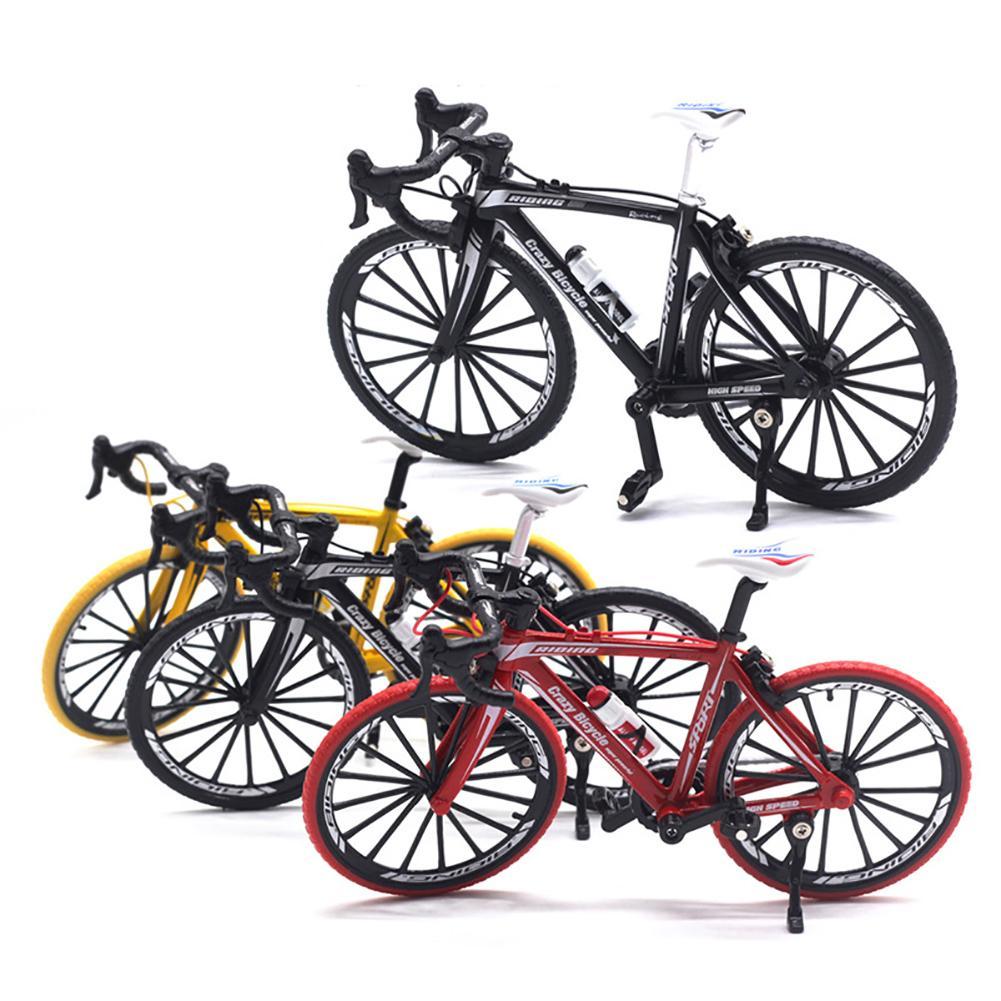 1/10 High Simulation Alloy Racing Bike Road Bicycle Model Toy Gift Showcase Decor Toys Kids Boy Birthday Toy