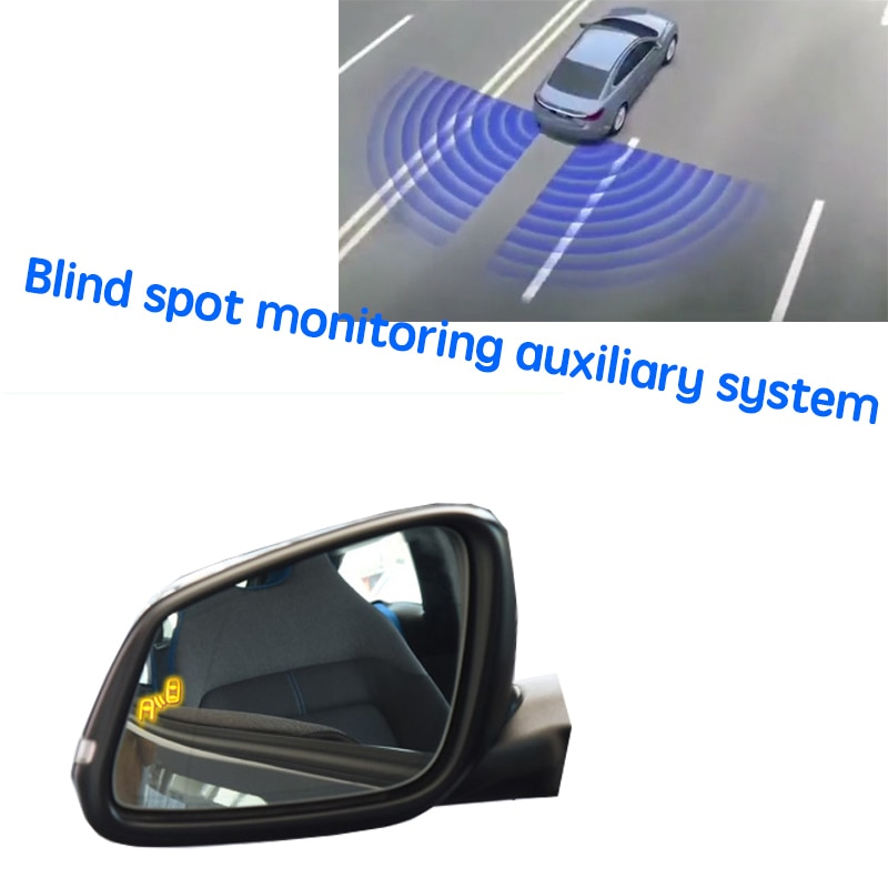سيارة BSD BSM BSA منطقة عمياء محرك تحذير مرآة نظام الكشف عن الرادار الخلفي لسيارات BMW i3 Mega City 2013 ~ 2020