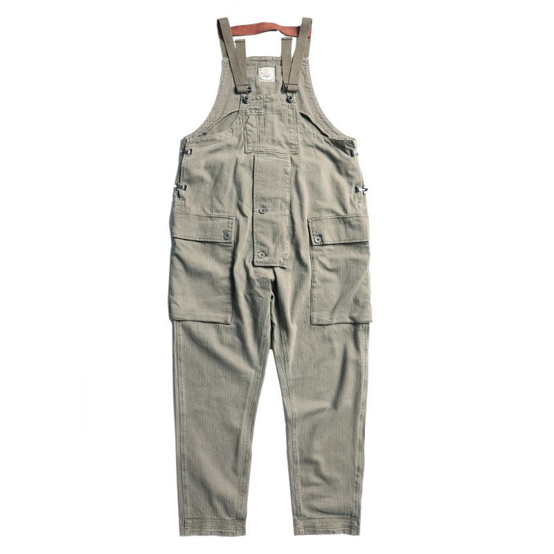 NC-0005 High Quality Retro Heavy Washed Loose fitting Overall