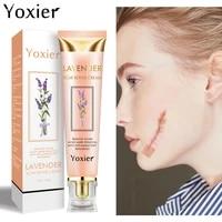 yoxier lavender scar removal cream acne scar repair remove stretch marks acne marks burns pigmentation corrector scar skin care