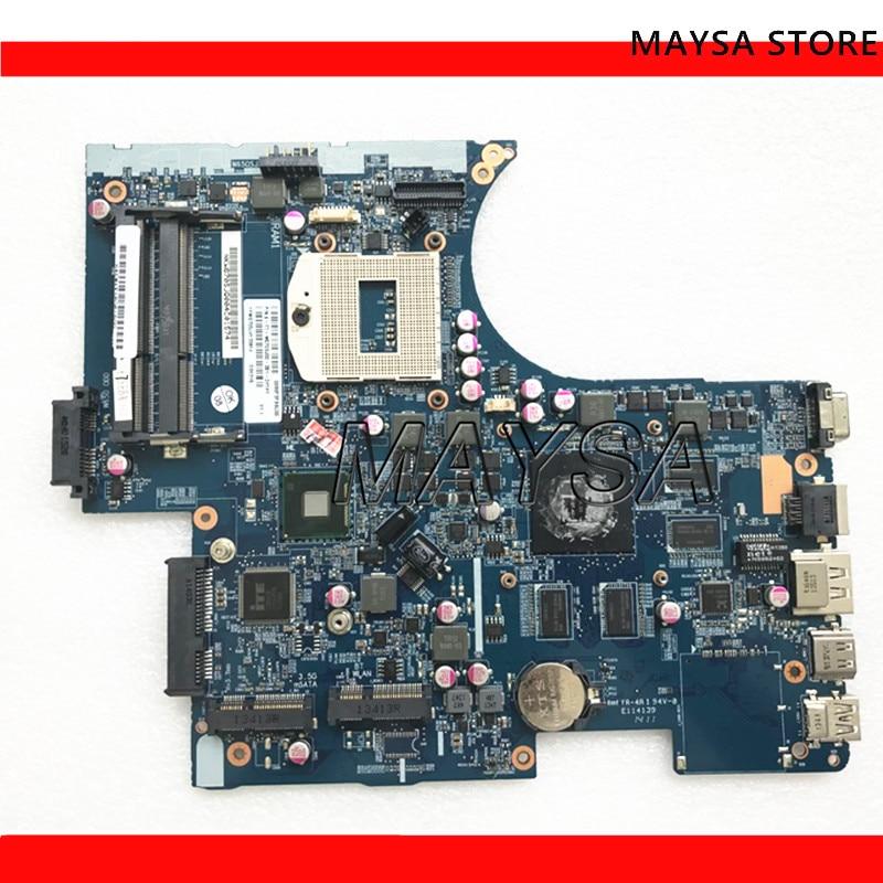 اللوحة الأم للكمبيوتر المحمول, اللوحة الأم للكمبيوتر المحمول لـ Hasee لـ Clevo لـ God of War w670SJ 6-77-W670SJ00-D01 اللوحة الأم 6-71-W65J0-d01 DDR3 100% ٪ تم اختبارها ok