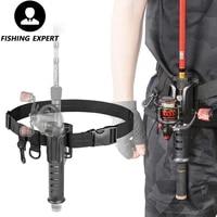 pole racks stylish gothic british fan car punk black fishing belts portable lure waist bracket tackle suitable fishing rod tools