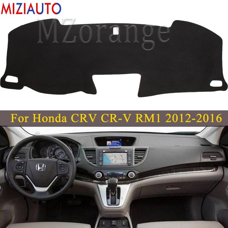 Dashboard Cover For Honda CRV CR-V RM1 RM3 RM4 2013 2012 2014 2015 2016 Anti-slide Dashmat Board Cover Carpet Car Accessories
