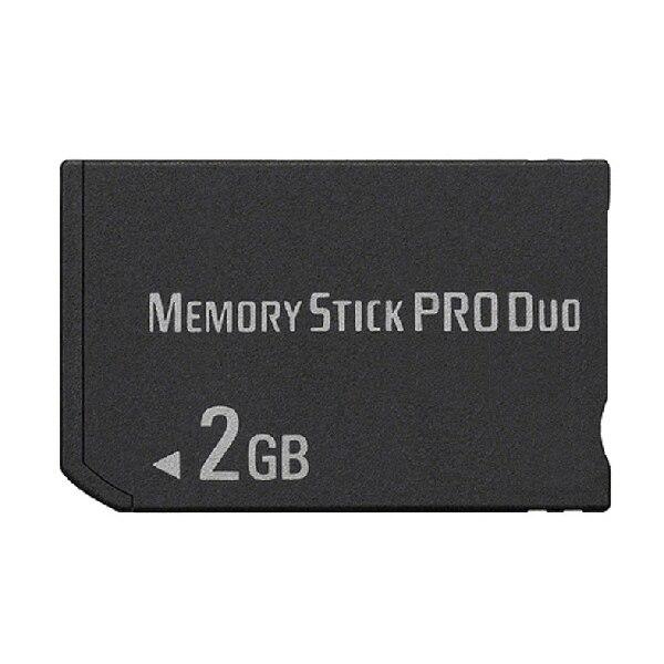 OSTENT 2GB MS memoria Stick Pro Duo Almacenamiento de tarjeta para Sony PSP 1000/2000/3000 juego