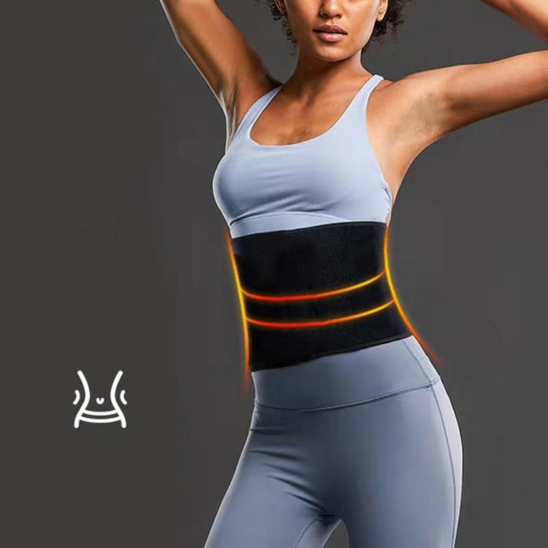 Waist Training Corset Belt Burn Fat Underwear Corset Slimming Newest Waist Slimming Belt  Belly Girdle Body Shaper lace up waist training corset
