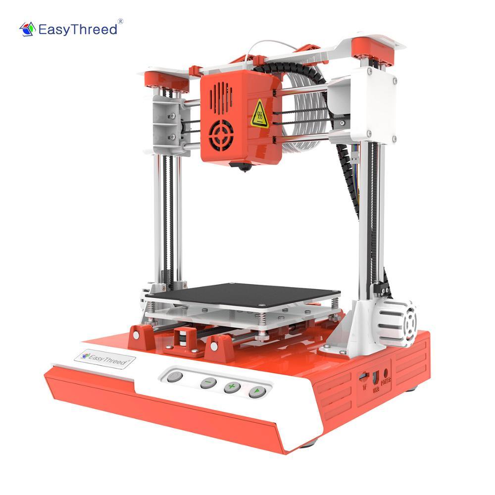 Easythreed K1 طابعة صغيرة ثلاثية الأبعاد لطلاب التعليم Creality آلة طباعة ثلاثية الأبعاد لتقوم بها بنفسك Impresora ثلاثية الأبعاد المهنية الأطفال هدية