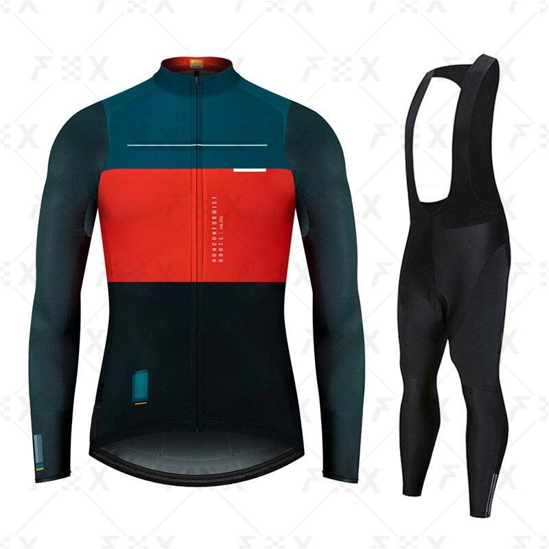 Gobikful-Conjunto de Ciclismo de manga larga transpirable, Ropa para bicicleta de montaña,...