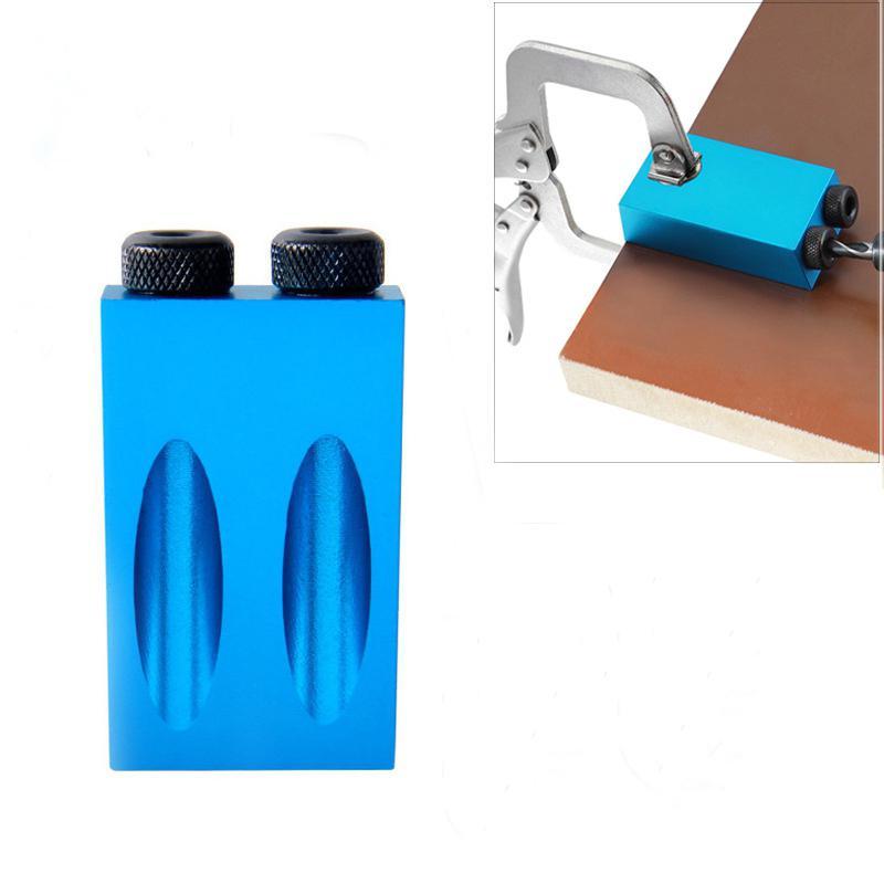 Набор направляющих для сверления, комплект карманных кондукторов 6/8/10 мм, для работ по дереву