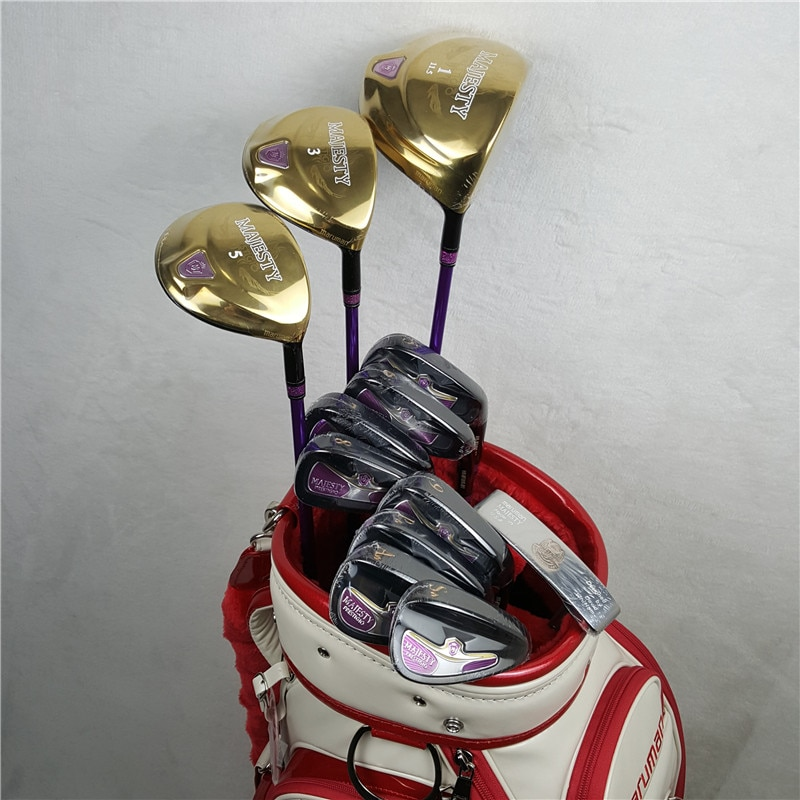 Brand New Maruman Women's' Golf Clubs Set Maruman  Majesty Prestigio 9 Golf Complete Set  Graphite Golf Shaft L Flex(No Bag)