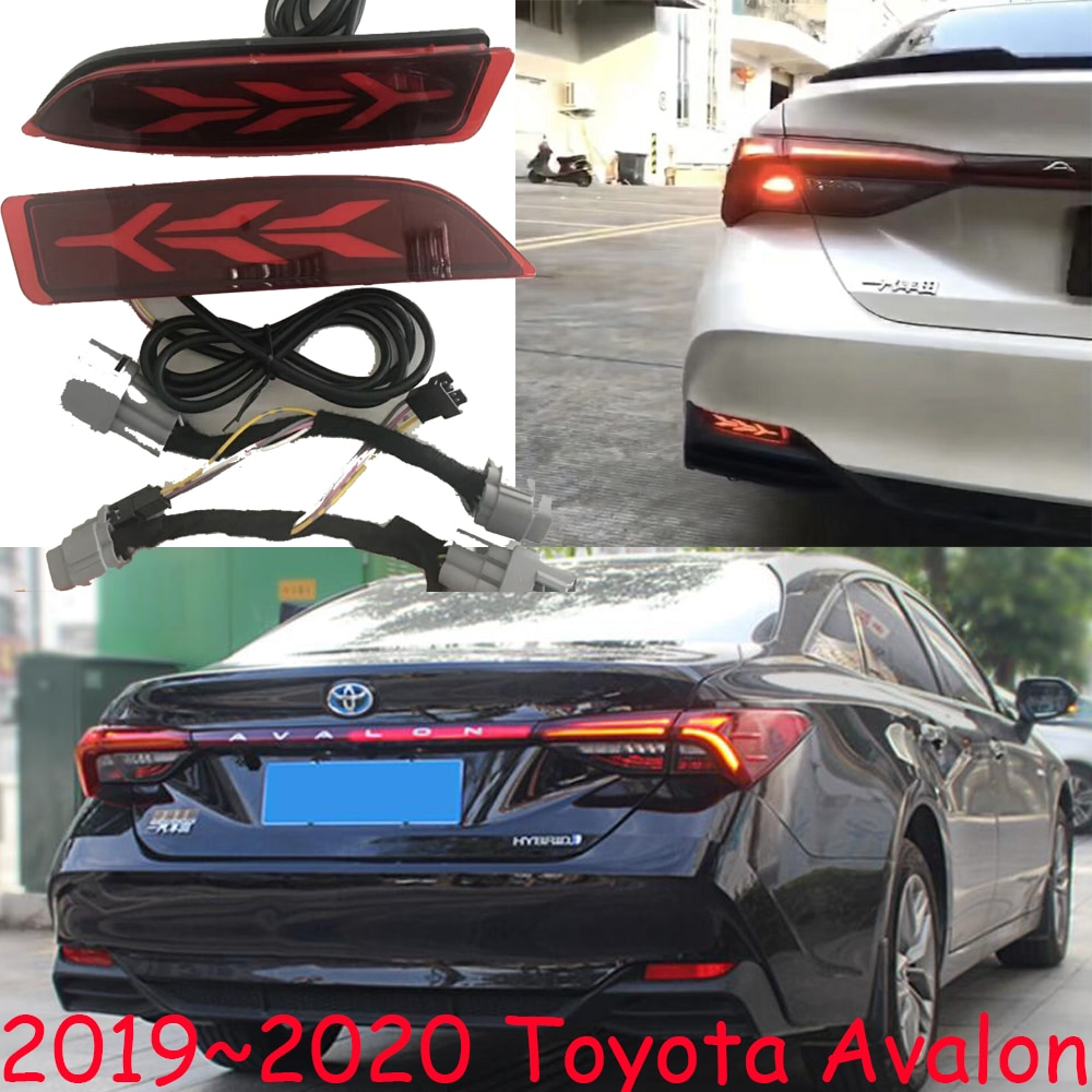 2pcs car bumer taillight for Toyota Avalon rear light brake 2019~2020y LED car accessories taillamp for Avalon rear light