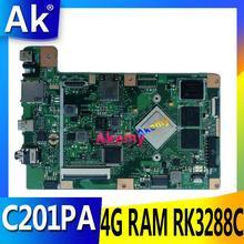 AK C201PA carte mère dordinateur portable pour ASUS C201PA C201P C201 Test carte mère dorigine 4G RAM RK3288C
