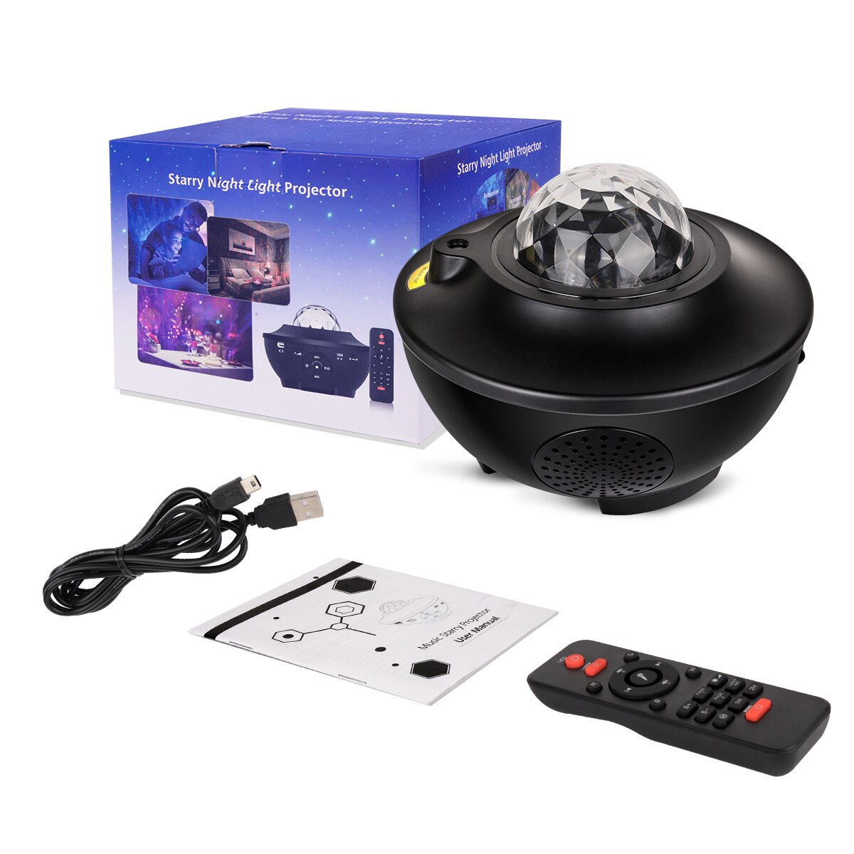 Starry Sky Galaxy Projector Wifi Blueteeth USB Music Speaker Star Night Light Romantic Alexa Phone Home Smart Projection Lamp enlarge