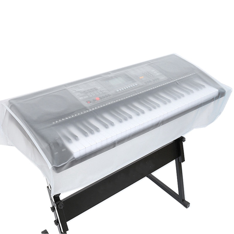 Keyboards Cover Electronic Organ Digital Piano Dust Cover Transparent Grind Arenaceous Waterproof Protect Bag