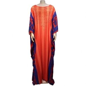 African Dresses For Women Long Dress Chiffon Muslim Fashion Abaya Africa Clothing High Quality Fashion Africa Maxi Dress Lady