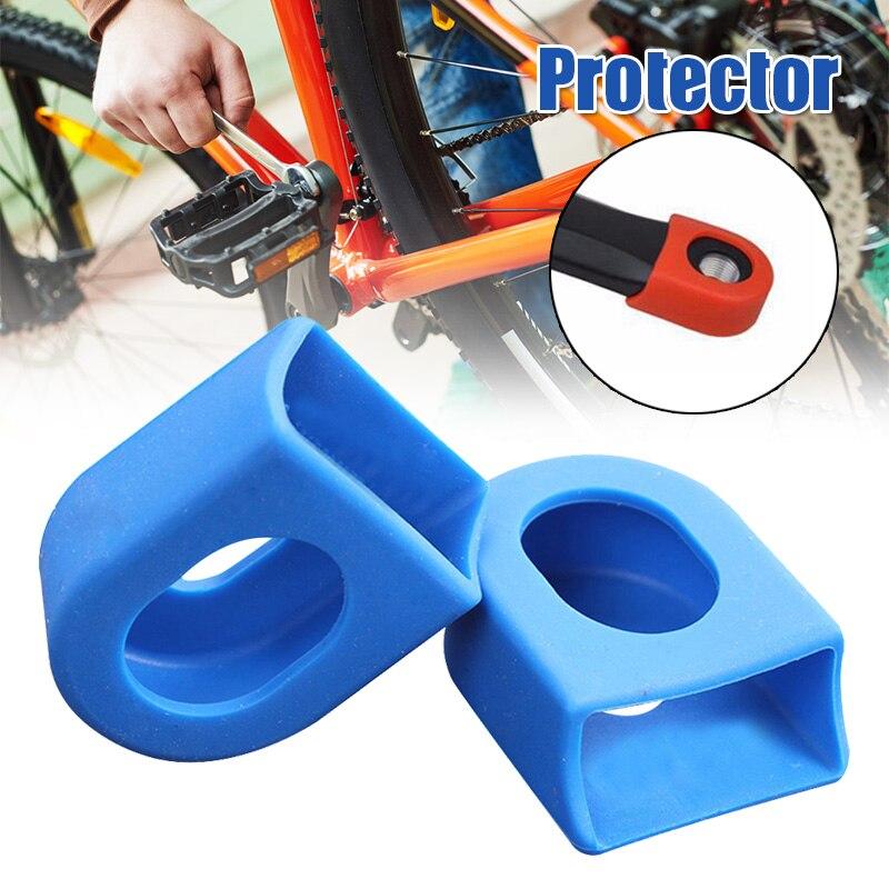 ¡Oferta! Fundas protectoras para 1 par de manivela de bicicleta de carretera, piezas plegables para bicicleta, accesorios para bielas, DO2
