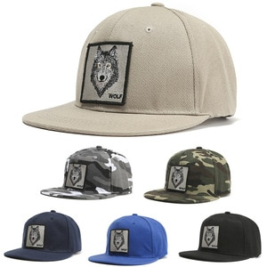 Adult Wolf Wolf Baseball Cap Fashion Hip-Hop Hip-Hop Hat  Men And Women Personality Sun Hat