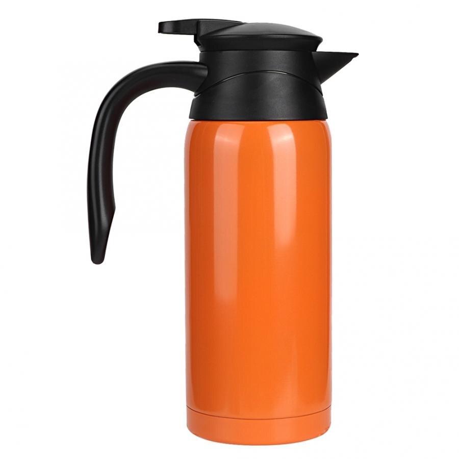 800 мл Автомобильный Электрический чайник из нержавеющей стали Автомобильный Электрический чайник с подогревом Бутылка Чашка 12-24 в водонагр...