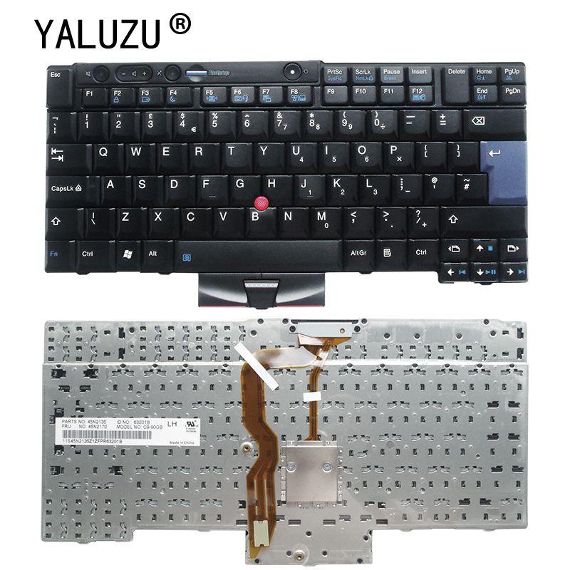 Новая клавиатура для ноутбука IBM для Lenovo X220 X220i X220T T400s T410 T510 W510 W520 T520I T510I T410I 45N2135 45N2170 UK