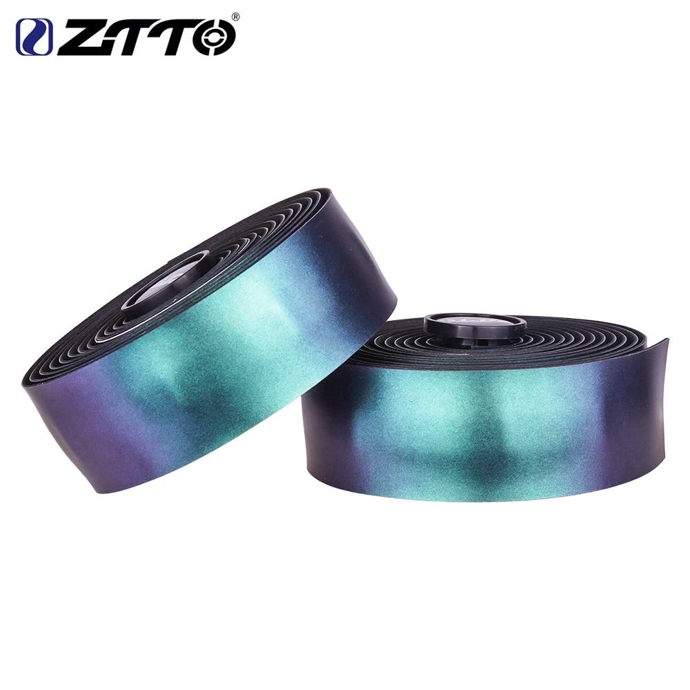 ZTTO-Cinta para manillar de bicicleta, cinta reflectante de color púrpura, brillante, para el Tarmac de WENGE