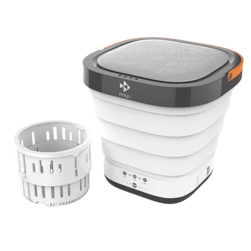 Портативная Складная мини-стиральная машина, улучшенная дорожная машинка для стирки нижнего белья, с функцией подвижной мойки, инструменты...