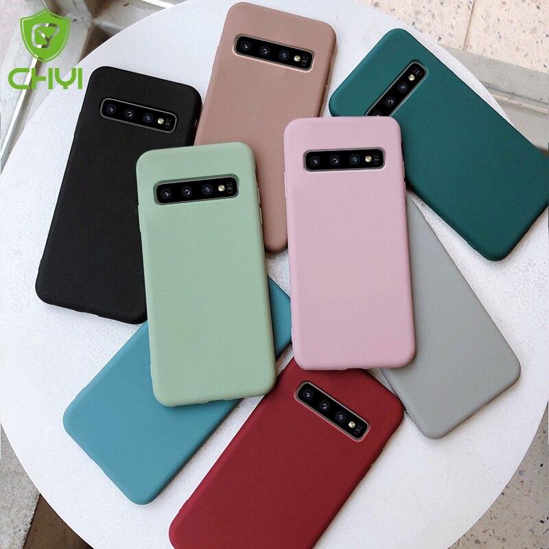 case for samsung galaxy s10 s9 s8 plus s10e s20 ultra note 8 9 10 s7 edge cover funda caps etui phone thin soft