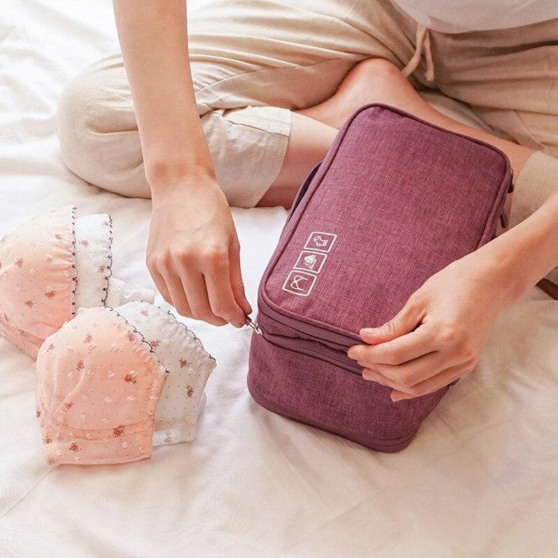 Дорожная водонепроницаемая сумка для хранения, катионная сумка для хранения нижнего белья, отделочная сумка для хранения личных вещей, орг...