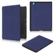 Étui pour Kobo Aura H2O édition 2 6.8 Ultra mince en cuir synthétique pour Kobo Aura H2O édition 2 Ebook tablette Funda étui