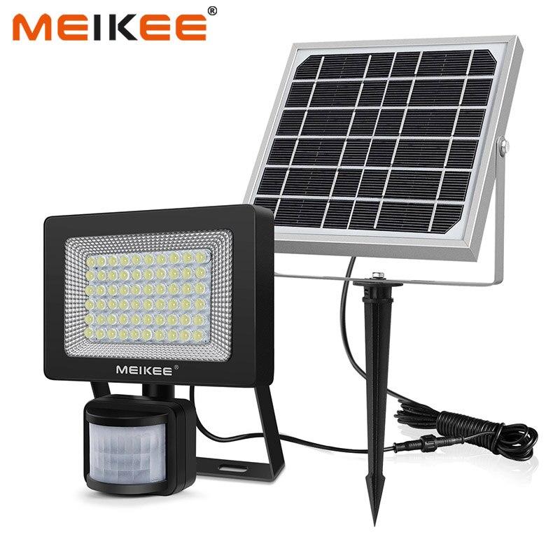 60 Светодиодный s солнечный светильник s датчик движения наружный светильник безопасности на солнечных батареях прожектор светильник IP66 вод...