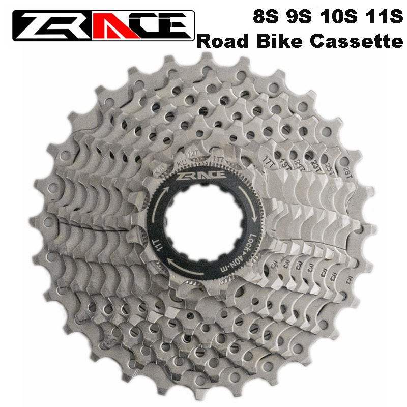 Zracing велосипедная кассета 8S 9S 10S 11 Speed Road / MTB freewheel 11-25T/32T/34T / 36T, совместима с Tiagra ZEE SAINT/Ultegra 105