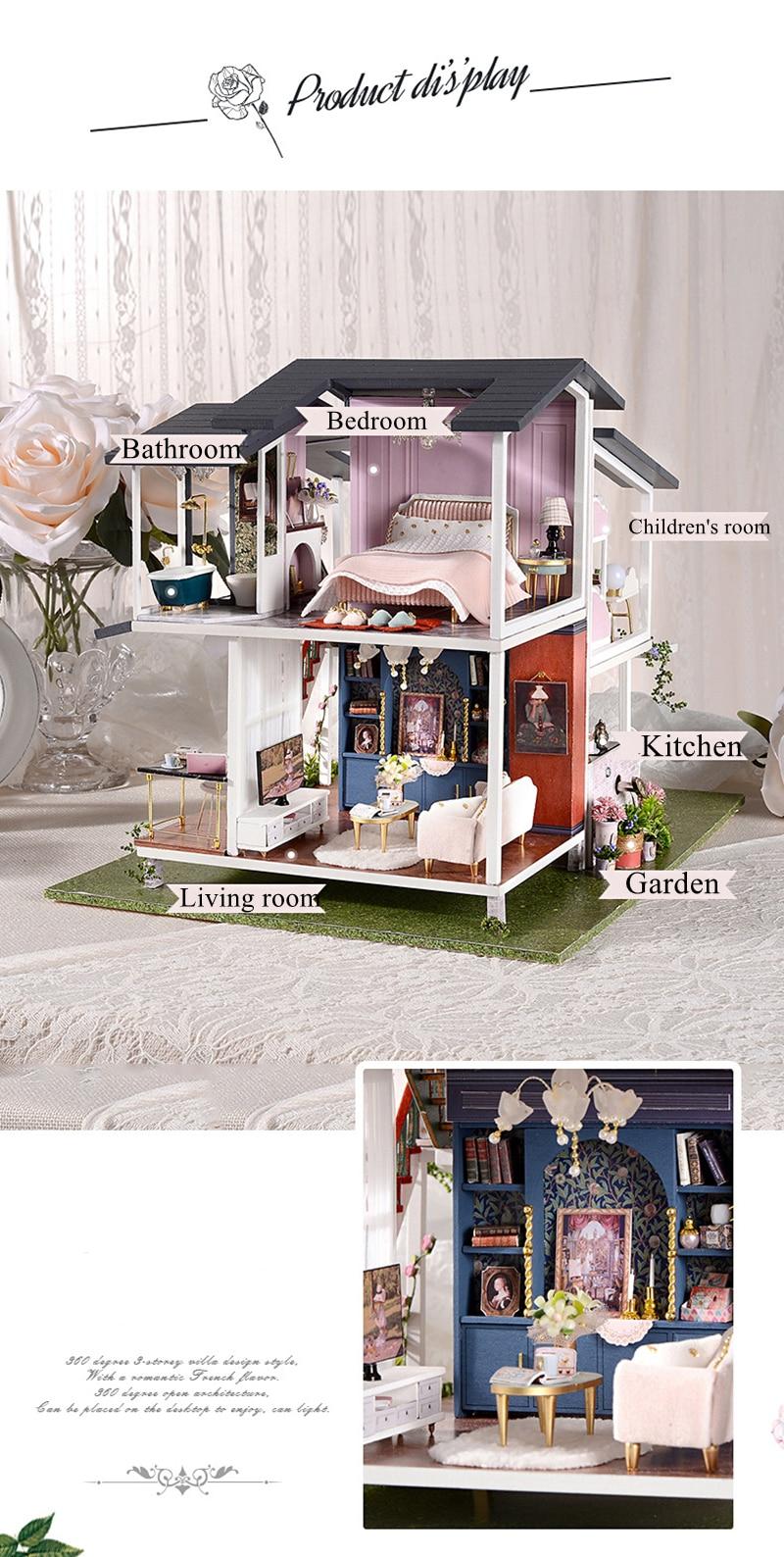 Monet Garden DIY Miniature Villa Kit