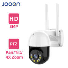 3MP PTZ Беспроводная IP-камера Водонепроницаемая 4-кратный цифровой зум скоростная купольная супер 1296P WiFi камера видеонаблюдения с аудио