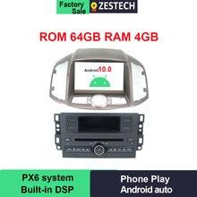 ZESTECH-PX6 ROM 64 go Android 10.0 autoradio   Autoradio pour Chevrolet Captiva 2012-2018, GPS, dvd, autoradio multimédia