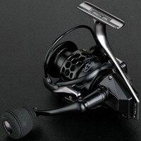 Widen Spool No Gap Bearing High Quality Full Metal Fishing Reel GTA1000-7000 14+1BB Spinning Reel Rocker Arm Fishing Reels