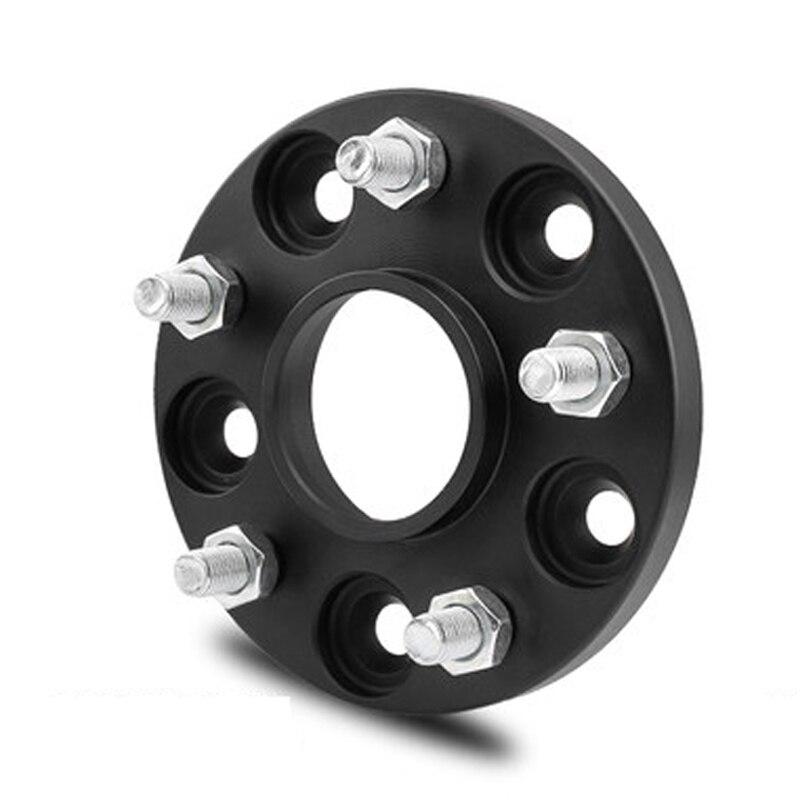 1Pcs Wheel Spacer 5x112 Mm Tire Gasket Tyre Flange Forged For V-W Golf Passat For Skoda Octavia / Seat Leon MK3 Wheel Adapter