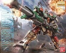 Bandai Gundam MG 1/100 GAT-X103 Buster Gundam combinaison Mobile assembler des maquettes figurines jouets pour enfants