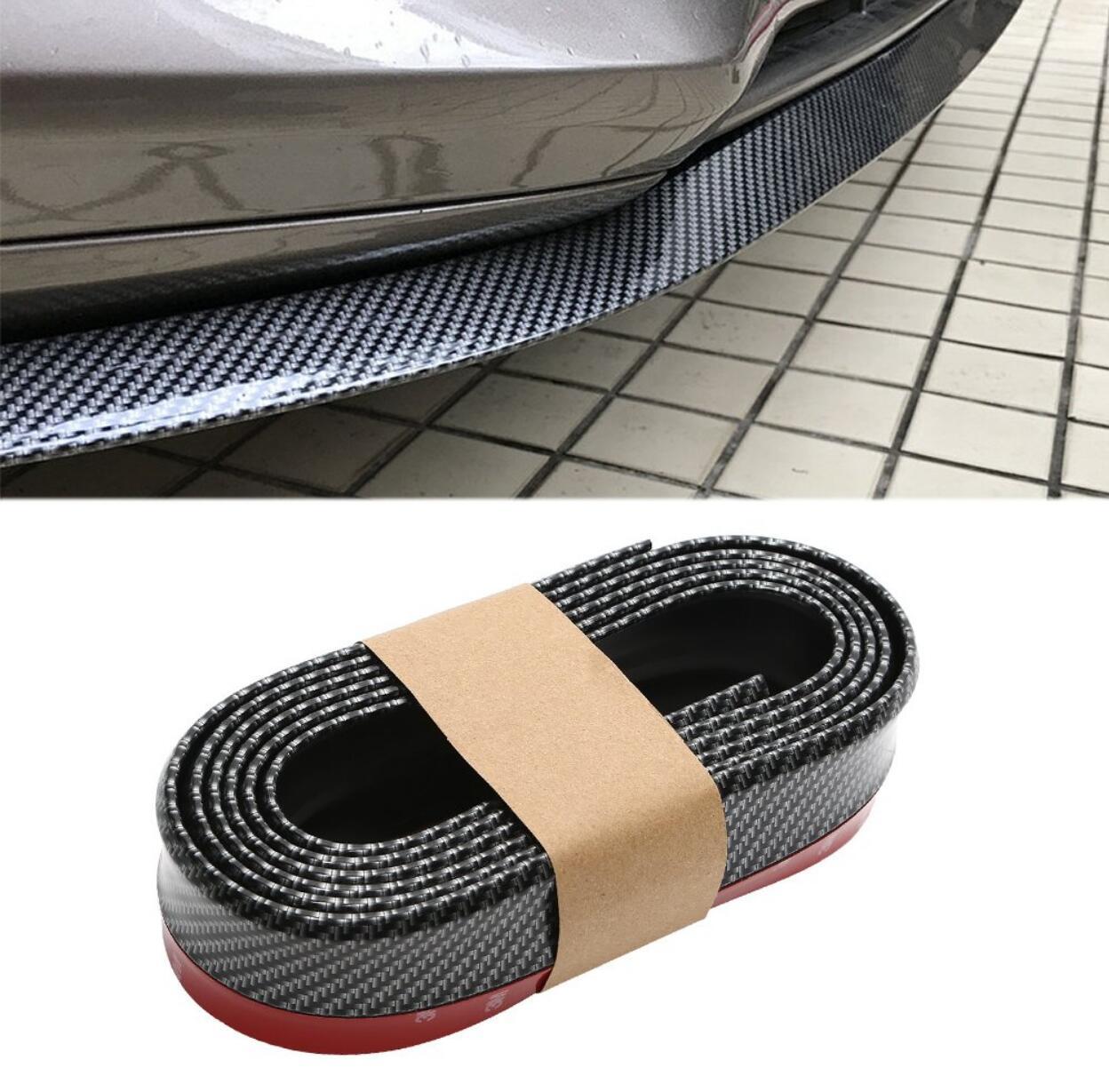 2,5 м Автомобильная Передняя юбка для губ обшивка кузова передний бампер для Subaru Forester Outback датчик для Impreza XV BRZ