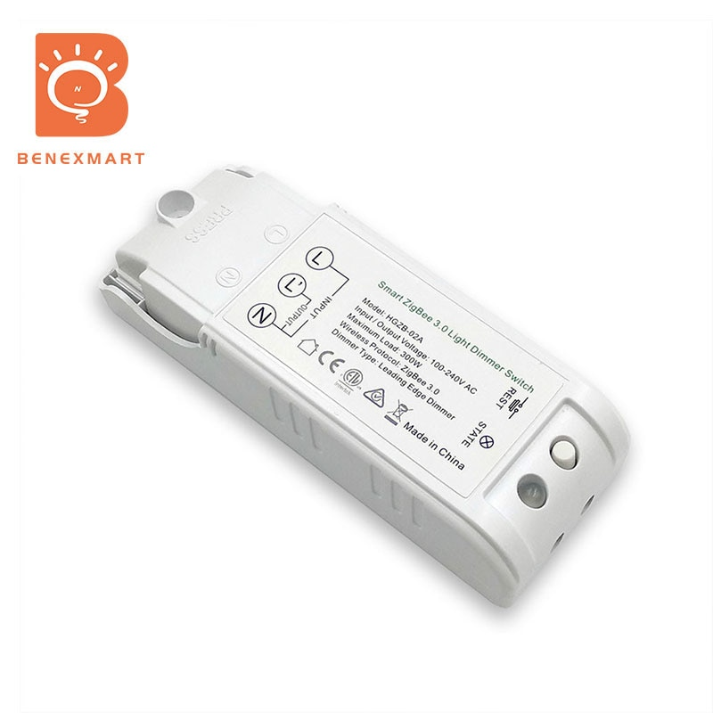 Benexmart Dimmer Zigbee 3.0 DIY Smart Switch Light Controller Home Automation Remote Control Echo Plus Alexa SmartThings