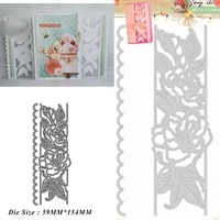 flowers lace cutting dies diy mold paper metal craft dies for card making cut dies 2021 embossing new molds