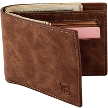 Hot Sale New 1PCS High Quality Fashion Mini Men's Luxury Business Wallet Card Holder Man Purse Coin