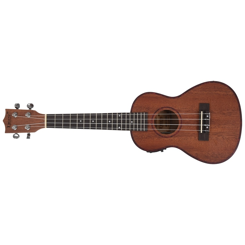 irin 24 polegada electroacoustic ukulele abalone escudo borda 18 traste quatro cordas