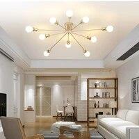 Plafonnier luminaire moderne pour salon chambre nordique plafonnier Spot plafonnier Techo Lampara