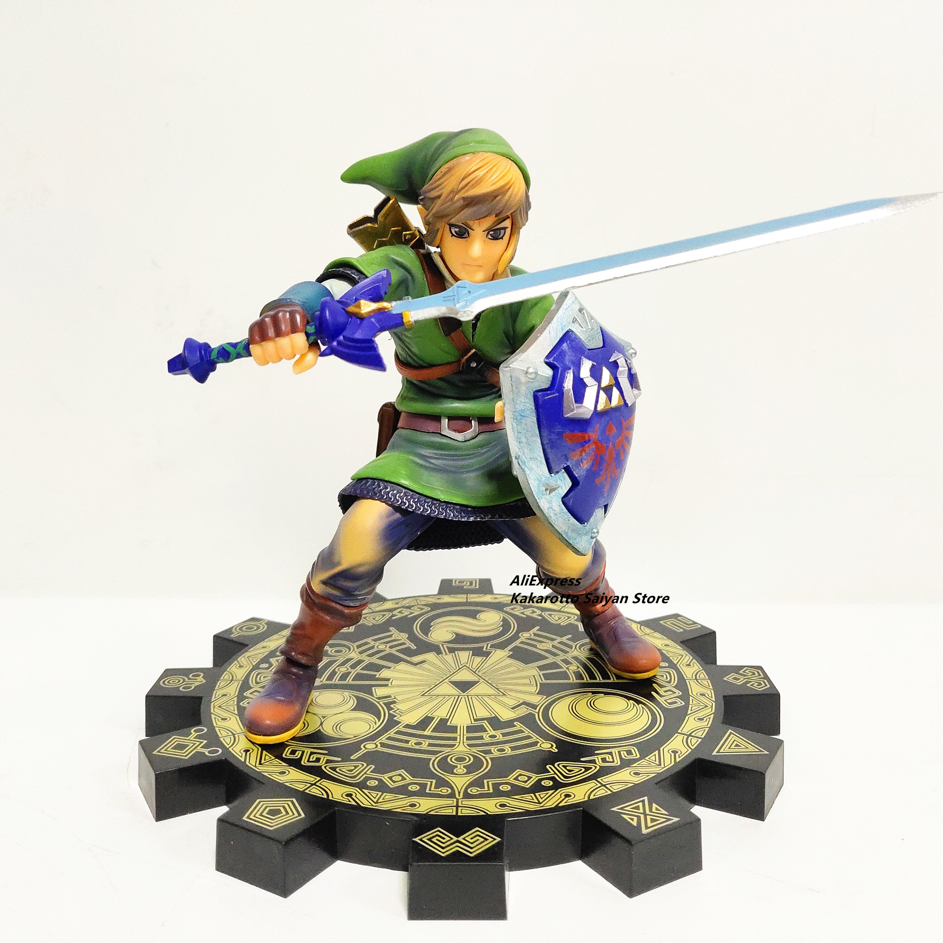 Figura de acción de PVC Zelda Skyward Sword 1/7, juguete de juego de Anime Zelda Link, figura de juguete de modelos coleccionables