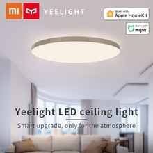 Yeelight Smart LED plafonnier 470mm support Apple Homekit Xiaomi Mi APP télécommande vocale luminosité réglable salon