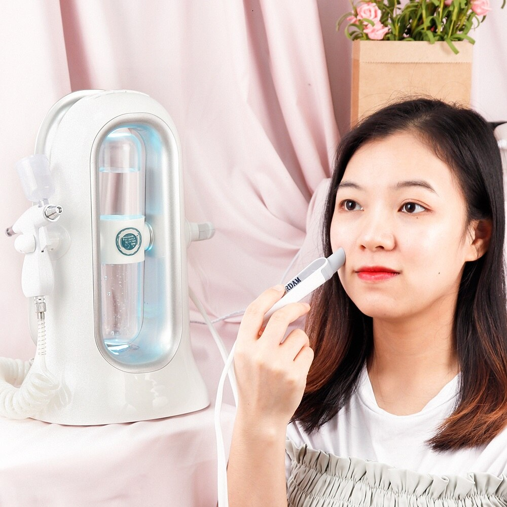Oxygen Therapy Jet Peel Cleaning Machine Skin Rejuvenation Microdermabrasion Pore Clean Water Aqua Peel Hydroning Face Care Tool enlarge