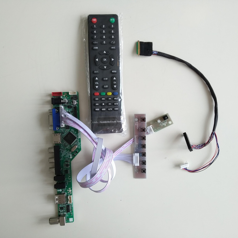 تلفزيون HDMI متوافق AV VGA USB الصوت LCD LED تحكم مجلس بطاقة عدة لتقوم بها بنفسك ل N156B6-L0B 15.6