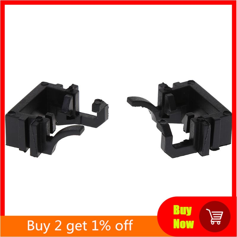 2Pcs H1 LED Headlight Bulb Holder Stand Adapter For FORD-FOCUS Fiesta Mondeo Car Auto High Beam Head