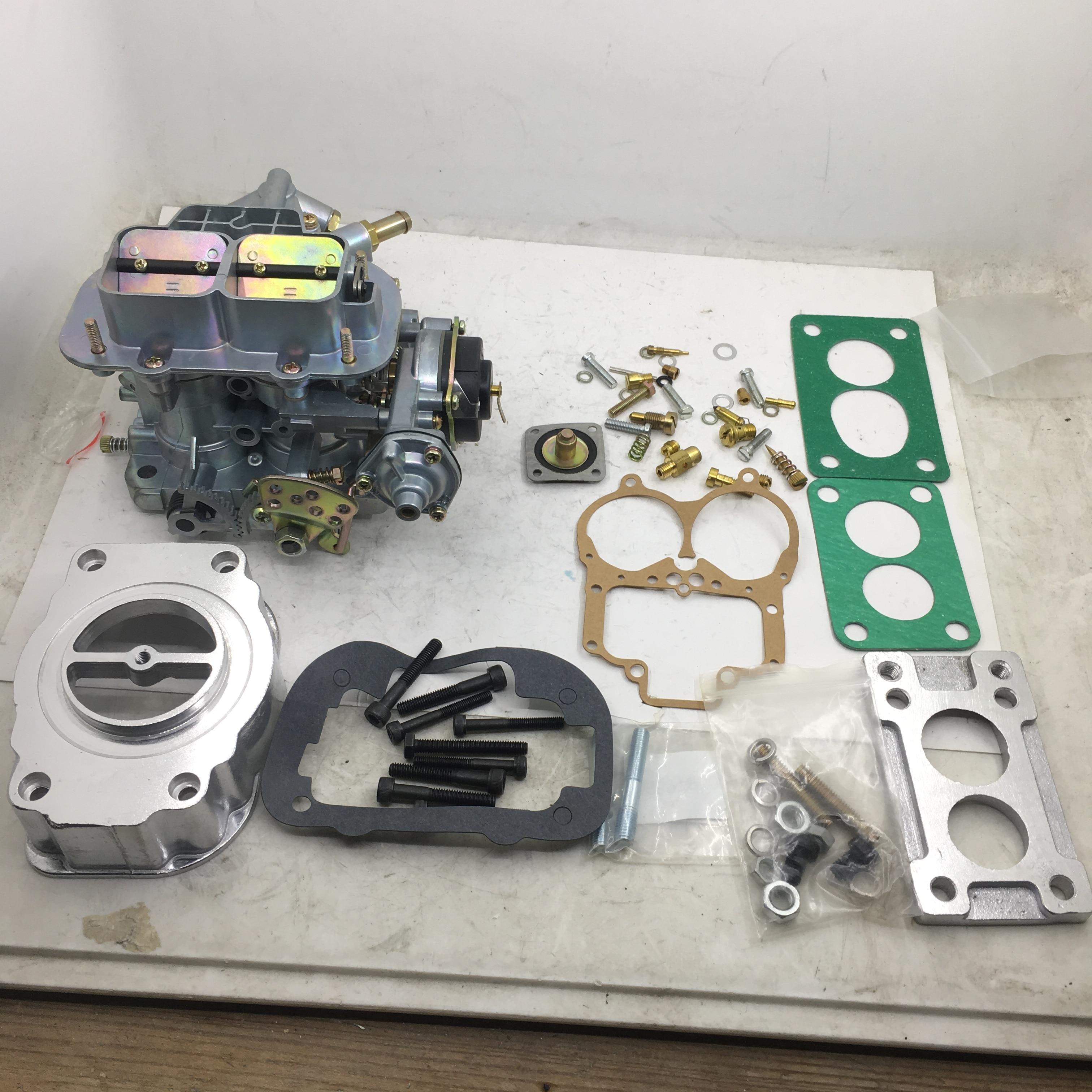 SherryBerg 38x38 FAJS/38/38 los GED carburador + Adaptador + filtro de aire adaptador para Fiat renault FORD VW BMW 390 CFM BMW DAEWOO DODGE