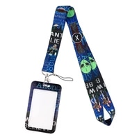 jf1070 want to believe alien movie lanyard neck strap for key id card cell phone straps badge holder diy hanging rope gifts
